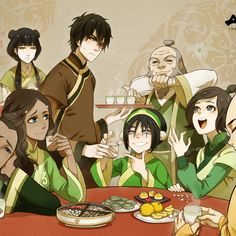 Avatar The Last Airbender - Tea Time with Iroh and Friends