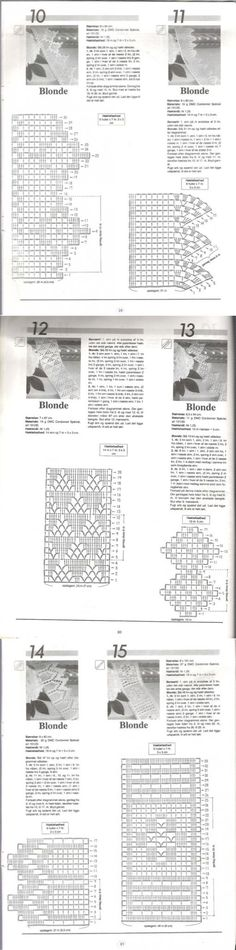 Haekling №9 Tablecloths, napkins, border