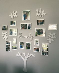 Easy Diy Farmhouse Living Room Wall Decor Ideas ~ - Famous Last Words Family Tree Wall Decor, Room Wall Decor, Living Room Decor, Living Rooms, Family Trees, Family Family, Photowall Ideas, Family Tree With Pictures, Family Wall Photos