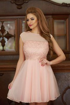 Comanda online, Rochie Fofy Charm Looks Peach. Prom Dresses, Formal Dresses, Fancy Dress, Peach, Charmed, Wedding, Outfits, Collection, Events