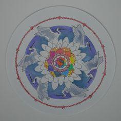 Mandalas and More: Happy Birthday Robin! Happy Birthday Princess, Heron, Robin, Symbols, Mandalas, Herons, European Robin, Robins, Glyphs