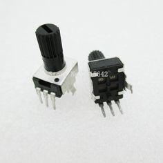 5PCS/LOT RV09 B50K B503 Potentiometer Adjustable Resistance 12.5mm Shaft 3 Pins 0932 Vertical adjustable trim pot WH09 #Affiliate