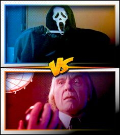GHOSTFACE versus THE TALL MAN ■ http://terror.ca/movies/franchise/rank?f=262&f2=267