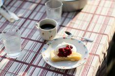 citronkladdkaka recept-3 Waffles, Pudding, Yummy Food, Breakfast, Desserts, Blog, Drink, Morning Coffee, Tailgate Desserts