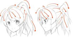 How to Draw Different Hairstyle | By MZRZ | World Manga Academy #WMA #manga #tutorial