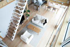 木の家―仕様・設備|無印良品の家 Loft Interior Design, Interior Ideas, Interior Inspiration, Muji Furniture, Muji House, Internal Design, Home Board, Space Architecture, Grand Designs
