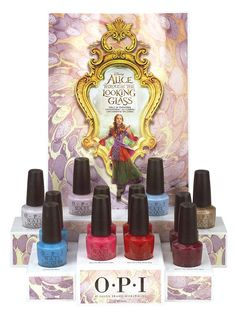 """Disney Alice Through the Looking Glass Collection by OPI   Hello Sweeties! How are you today?  Was your Monday a hard day? If it was then you might enjoy the good news: OPI is launching this fantastic collection inspired on the Disney film """"Alice through the Looking Glass""""!! Isn't it exciting??  Keep reading to find out :)  The worlds number one salon nail lacquer brand has gone positively mad. OPI is celebrating the May 2016 release of Disneys Alice Through The Looking Glass with a new…"""