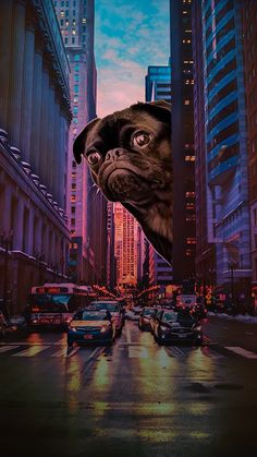 Start your creative journey with PicsArt! Cute Cartoon Wallpapers, Cute Wallpaper Backgrounds, Aesthetic Iphone Wallpaper, Aesthetic Wallpapers, Paintings Famous, Famous Artwork, City Painting, Oil Painting Abstract, Abstract City
