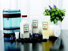Aroma Spa Collection. Lavender scent gets you relaxed and rejuvenated in no time!