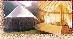 This tent actually has 3 rooms and I think it would be fabulous to have on our land near the pool for extra guest rooms, a hide away or for therapies.