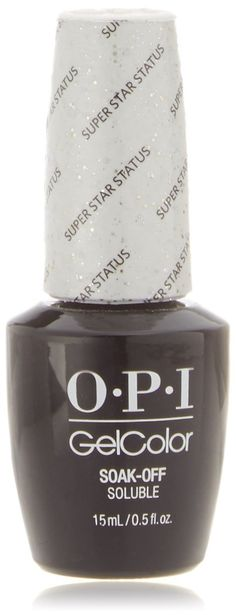 OPI GelColor Soak-Off Gel Lacquer 0.5oz/15ml - STARLIGHT Holiday 2015 Collection (OPI HPG39 - Super Star Status) * Find out more about the great product at the image link.