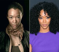 Sonequa Martin Photo - The Walking Dead Cast: What They Look Like on the Red Carpet - Us Weekly