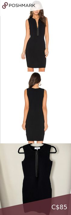 John & Jenn Spencer Ribbed Dress with Front Zip Plus Fashion, Fashion Tips, Fashion Trends, Stretch Fabric, Zip, Outfits, Collection, Things To Sell, Dresses