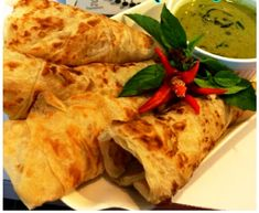 Roti Canai Recipe, Roti Bread, Thermomix Bread, Flat Pan, Blender Recipes, Bread Recipes, Curry, Food And Drink, Vegetarian