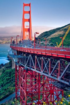 More of the Golden Gate Bridge bridges bridges San Francisco City, San Francisco Travel, Places To Travel, Places To See, Places Around The World, Around The Worlds, Birds Eye View, Adventure Is Out There, Northern California