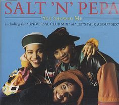 """For Sale - Salt N Pepa You Showed Me UK  CD single (CD5 / 5"""") - See this and 250,000 other rare & vintage vinyl records, singles, LPs & CDs at http://eil.com"""