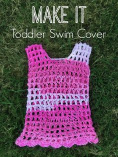 Crochet: Toddler Swim Cover. This was so fast and easy!