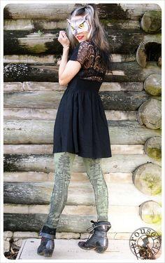 Redwood Forest Leggings  Womens Legging  Forest by Carouselink