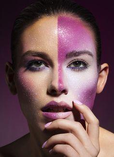Brandon Showers Photography.  Fantasy Makeup Inspiration.