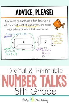 Your fifth grade students will absolutely LOVE these fifth grade common core aligned number talk activities. They are super engaging and will have your students talking about math like never before. Grab your set today! First Grade Lessons, Teaching First Grade, Math Lessons, Math Fact Practice, Math Fact Fluency, Number Talks, Fifth Grade Math, Math Lesson Plans, Math Strategies