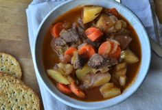 Antelope Stew - at wildfoodblog.com - recipes and cooking with wild game