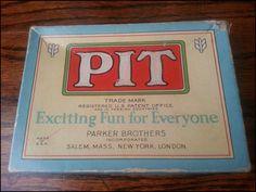 PIT - 1919 Version  by Parker Brothers Inc. Salem Mass.