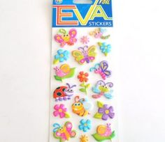 Animal Foam Sticker Collections for R34/10 Sheets.  This foam Collection comes in various design options | Paradise Creative Crafts