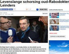 22-1-2015Levenslange schorsing oud Rabobank dokter Leinders. (Het Algemeen Dagblad) #Sport, #Doping http://www.ad.nl/ad/nl/1001/Sportwereld/article/detail/3835308/2015/01/22/Levenslange-schorsing-oud-Rabodokter-Leinders.dhtml