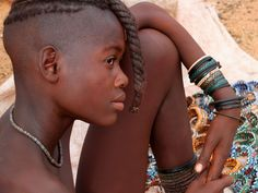 A beautiful Himba girl