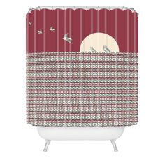 Belle13 Ethnic Sunrise Shower Curtain | DENY Designs Home Accessories