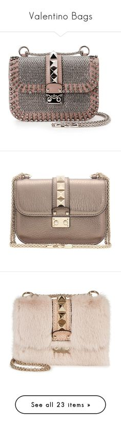"""""""Valentino Bags"""" by sentioinfinitum ❤ liked on Polyvore featuring bags, handbags, shoulder bags, handbags shoulder bags, multi, brown shoulder bag, clasp purse, shoulder bag purse, valentino shoulder bag and borse"""