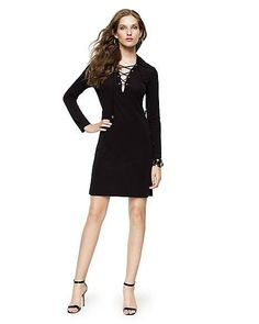 See when Matte Jersey Lace-Up Dress is on sale - TrackIf Juicy Couture ac92e3ad7