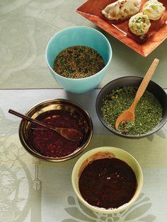 Cooling Cilantro-Cucumber Dipping Sauce