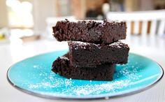 Gluten- & mjölkfria brownies med svarta bönor