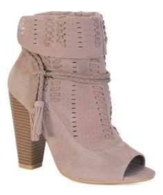 7e00e08f1f735 Bamboo Taupe Mash Ankle Boot. Bootie SandalsOpen Toe ...