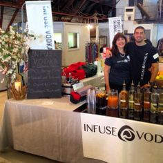 Killing it with classy cocktails #Infuse #vodka at Planned Parenthood Food Fare LA