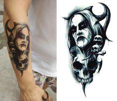 Horrible Man fake tattoo, Tattoo, Temporary Tattoo, Tattoo Sticker, Sticker #faketattoo#Tattoo#TemporaryTattoo#TattooSticker#Sticker #TemporaryTattoo Real Tattoo, Fake Tattoos, Temporary Tattoo Sleeves, Sleeve Tattoos, Tattoo Stickers, Tatuajes Tattoos, Ink Transfer, Henna, Body Art