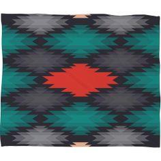 Gabi Like Water Fleece Throw Blanket | DENY Designs Home Accessories