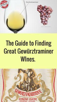 Gewürztraminer White Wine Guide