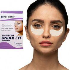 EyeMask Nu Pore Moisturizing Under Eye treatment Masks #DiyEyeCream Oily Skin, Sensitive Skin, Puffy Eye Treatment, Under Eye Puffiness, Acne Breakout, Puffy Eyes, Skin So Soft, Skin Care Tips, Moisturizer