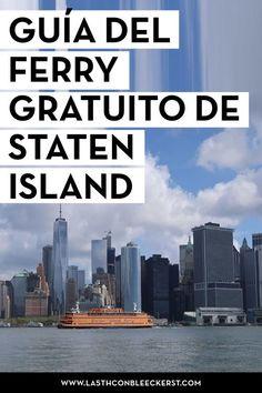 El ferry de Staten Island y ver gratis la Estatua de la Libertad - Travel Info, Travel Usa, Travel Tips, Travel Around The World, Around The Worlds, Staten Island Ferry, New York City Travel, Travelling Tips, Portugal Travel