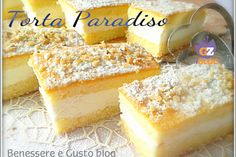 Torta Paradiso al limone
