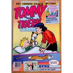 Tommy & Tigern: 1994 - Nr. 3 - Møt verdens kuleste tøytiger