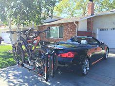 Trailer hitch bike rack - MyG37