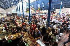 Abergavenny Food Festival in the Market Hall