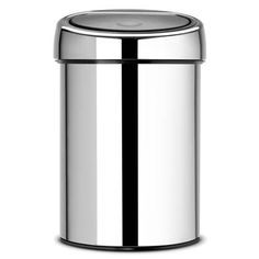 Brabantia Touch Bin 3 L glans Sensor Bins, House Essentials, Kitchenware, Tableware, Bathroom Bin, Waste Paper, Family Kitchen, Kitchen Equipment, Recycling Bins