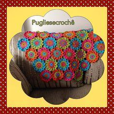 Flores Japonesas. #croche #crochet #crocheted #crochelove #crocheting #crocheflower #crochetflowers #floresjaponesas #handmad #handmade #handmadelove #handmadbrasil by pugliesecroche