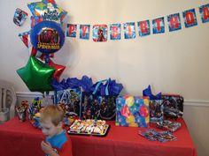 CJ's 4th Birthday Table