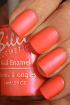 Electric Coral Matte!  This would be pretty in the summer with a tan