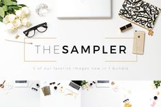 Check out The Sampler Header Image Bundle by Design Love Shop on Creative Market